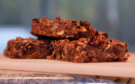 tasty energy bars from natural ingredients