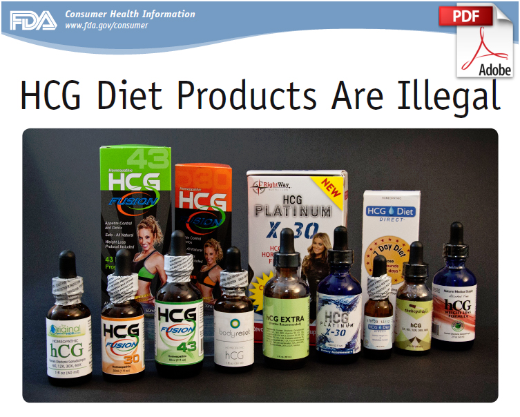 Hcg weight loss products