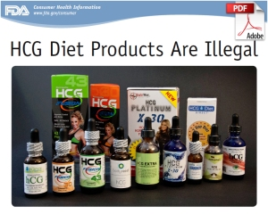 HCG Diet Products are Illegal