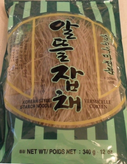 Sweet potato starch noodles